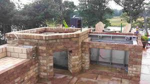Outdoor Kitchen Design Ideas Delightful Decoration Outdoor Kitchen With Pizza Oven Ravishing