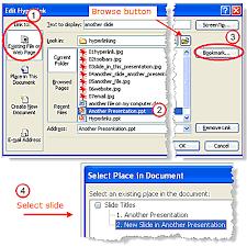 add hyperlinks to powerpoint presentations