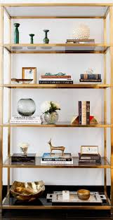 Gold Bookcase Furniture Home Ikea Vittsjo Bookcase 6 1 Modern Elegant New 2017