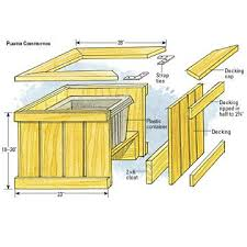 Wood Bench Plans Deck by Best 25 Planter Bench Ideas On Pinterest Cedar Bench Back