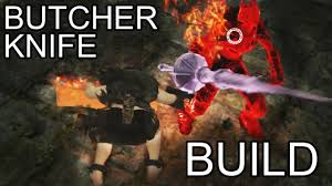 dark souls 2 pvp butcher knife build explanation and gameplay