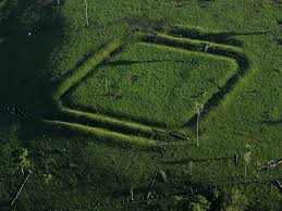 Amazon Rainforest Map Man Made Designs In The Amazon Rainforest Created 2 000 Years Ago