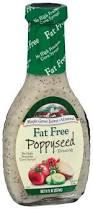 ewg u0027s food scores salad dressing poppyseed products