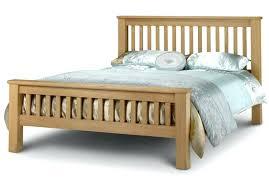oak bed frame king size solid oak bed frame by beds solid oak