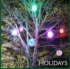 eco ornaments tree light outdoor decorations