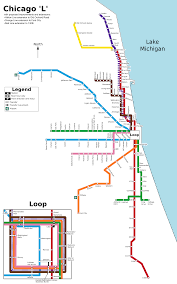 Chicago Attractions Map File Chicago L Future Svg Wikimedia Commons
