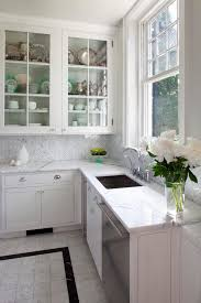 carrara marble kitchen backsplash manificent charming carrara marble herringbone backsplash 35