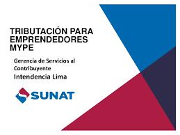 cronograma de sunat 2016 rus tributacion para emprendedores mype sunat