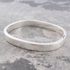 silver solid bracelet images Chunky solid silver hinged bangle jpg