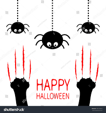 halloween cat eyes background happy halloween red bloody claws animal stock vector 705152623
