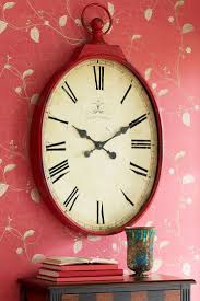 decorative wall clock winsome home goods decorative wall clocks let pier s romantically