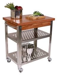 excellent butcher block cart kitchen butcher block cart with full size of kitchen butcher block cart brown wood countertop two stainless steel shelves stainless