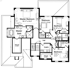 double master suite house plans modern house plans plan 1 level small one houses art custom