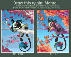 Draw This Again Meme Blank - draw this again meme by griffsnuff on deviantart