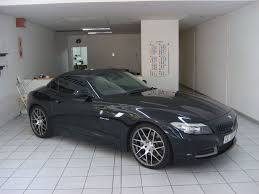 custom black bmw bmw z4 3 5 full custom body wrap