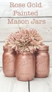 mason jars decorative mason jars red white by theshabbychicwedding
