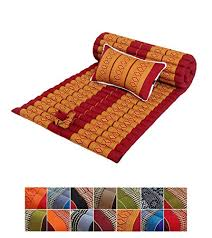 cuscini a materasso traditional thai kapok meditazione roll up materasso con un