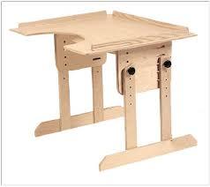 easels student desk work table adjustable height desk