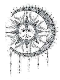 moon and sun designs sun and moon w we it moon