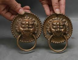 foo dog door knocker buy small lion door knocker and get free shipping on aliexpress