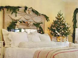 decorations cheap christamas decoration on bedroom with garlands
