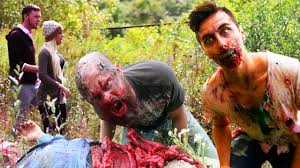 zombies in real life halloween prank funny pranks pinterest