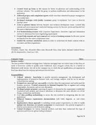 It Business Analyst Resume Sample by Perfect Created Mock Up Forms And Authored Progress For Business