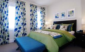Blue Bedroom Curtains Ideas 10 Lovely Floral Bedroom Curtain Ideas Rilane