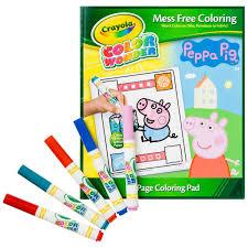 crayola peppa pig color big