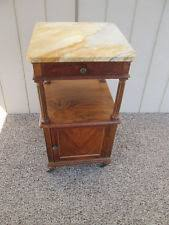 Antique Nightstands With Marble Top Marble French Antique Nightstands Ebay
