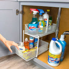 kitchen sink cabinet caddy 11 best the sink organizers for the bathroom and kitchen