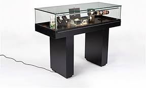 display case led lighting systems this museum showcase features a lock and key security system for