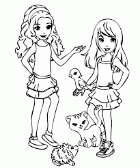 friendship coloring pages printable kids coloring