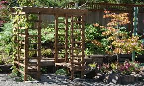 Diy Trellis Arbor How To Build A Grape Arbor That Will Last