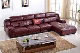 burgundy leather sofa home design