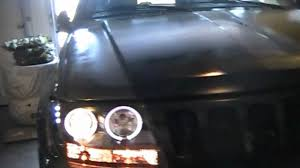 how to install projector style headlights with led s and halo s on