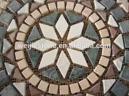 24x24 marble mosaic pattern mosaic pattern decorative floor tile