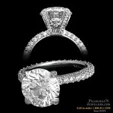 tiffany setting rings images Michael b jewelry princess cut engagement ring jpg
