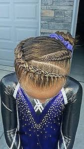 gymnastics picture hair style cute hairstyles inspirational cute hairstyles for gymnastics