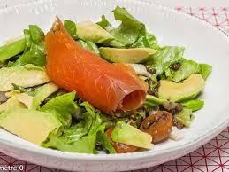 cuisiner lentilles s hes recettes de salade de lentilles et truite fumée