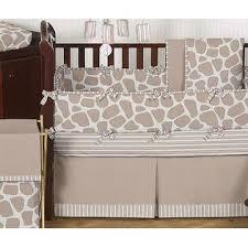 sweet jojo designs giraffe collection 9pc crib bedding set baby
