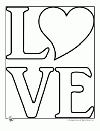 love coloring pages peace stenciling
