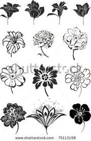 flower ornament vector free vector graphics craft