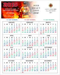 shift calendars u2014 firefighters print u0026 design