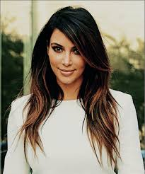 highlights vs ombre style kim kardashian and her perfect hair ombre highlights beleza