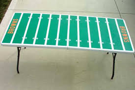 football field tailgating table favecrafts com