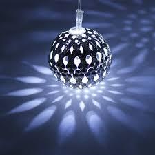 light balls animated outdoors for outside