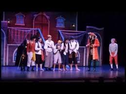 peter pan musical show