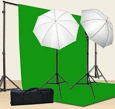 lighting for twitch streaming the fancierstudio lighting and green screen kit 115 has got all
