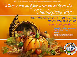 thanksgiving day 2015 indian christian church of sacramento